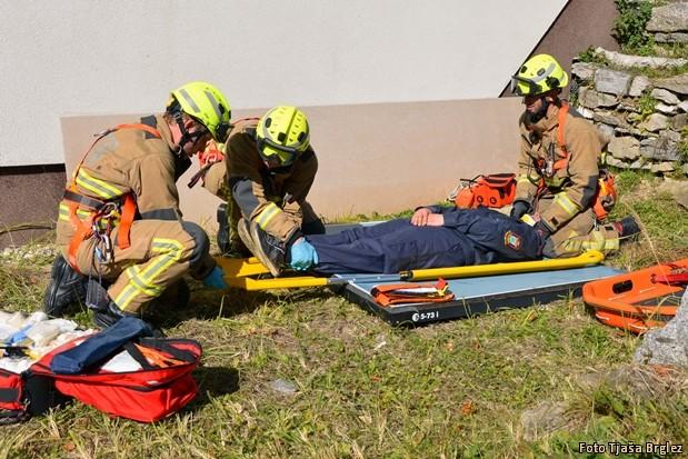 Dan operativnega gasilca-86