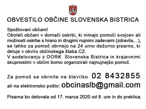 ukrepi koronavirus slb-3  16-3-2020