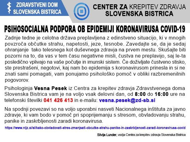 ZD Slovenska Bistrica psihosocialna podposa splet2