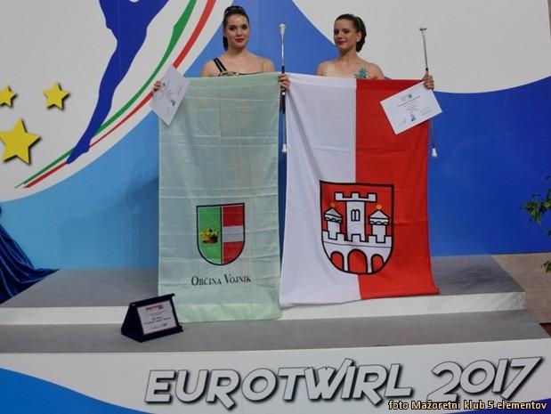 Eva - obcanka Obcine Vojnik in Nusa - obcanka Obcine Slovenska Bistrica