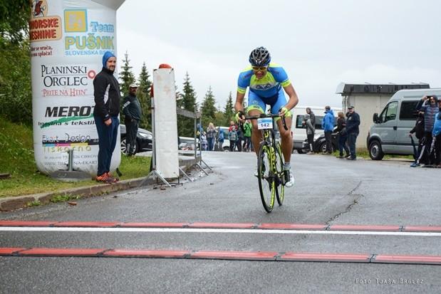 13 kolesarski vzpon na tri kralje Vzpon na 3K   DSC 0379