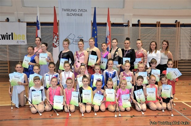 Slovenija OPEN twirling SLIKA SLO OPEN