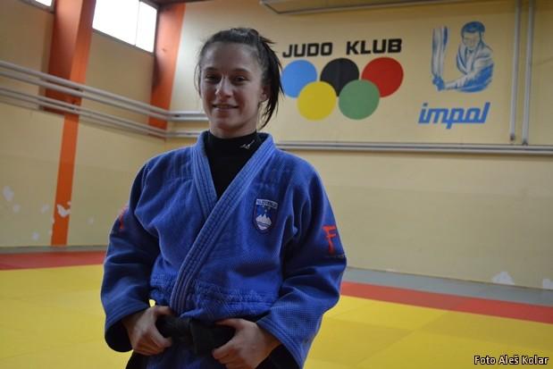 Judoistka Teja Tropan DSC 0552